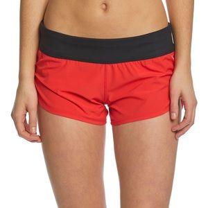 Hurley Phantom Red/Black Board Shorts M NWT